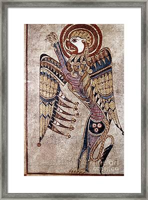Book Of Kells: Saint Mark Framed Print by Granger