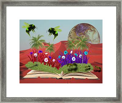 Book Of Nature Framed Print