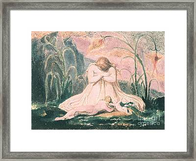 Book Of Thel Framed Print by William Blake