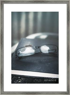 Book Worm Framed Print by Jorgo Photography - Wall Art Gallery