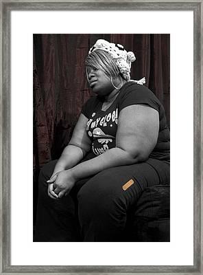 Bookend 2 Framed Print by Affini Woodley