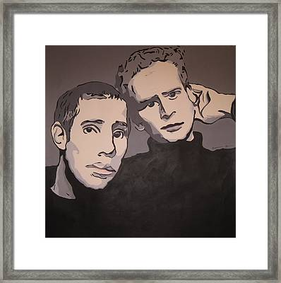 Bookends Framed Print by Rebecca Jankowitz