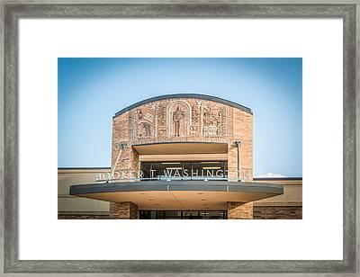 Booker T High School Tulsa Ok Framed Print