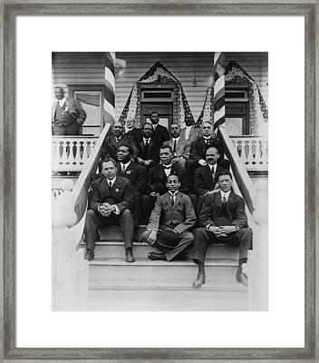 Booker T. Washington  1856-1915, Second Framed Print