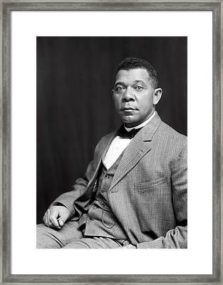 Booker T. Washington  1899 Framed Print