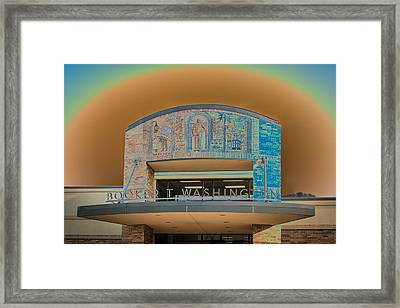 Booker T Washington High School Framed Print