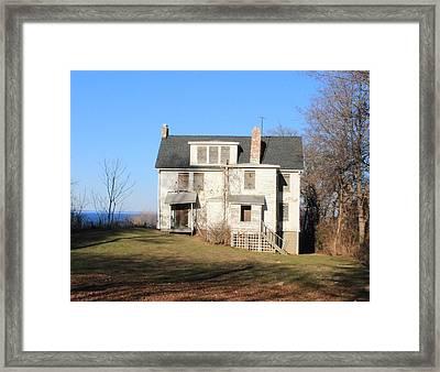Booker T Washingtons Summer Home Framed Print
