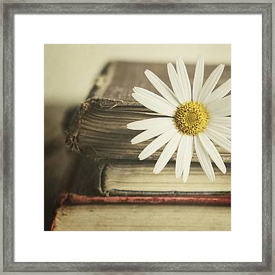 Framed Print featuring the photograph Bookmarked by Amy Weiss