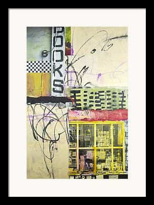 Store Fronts Mixed Media Framed Prints