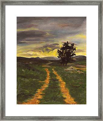 Boolavogue Road Framed Print