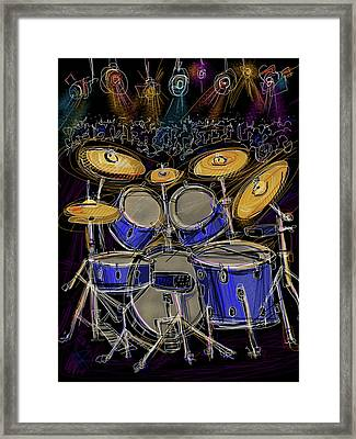 Boom Crash Framed Print