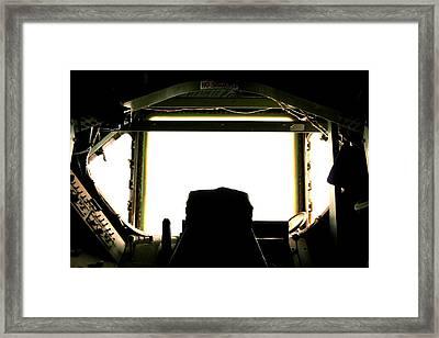 Boom Seat Framed Print by David S Reynolds