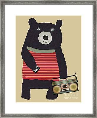 Boomer Bear  Framed Print