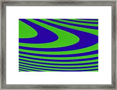Boomerang Framed Print by Carolyn Marshall