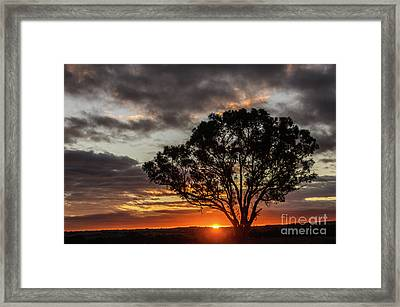 Boorowa Sunset Framed Print