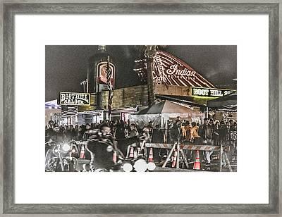 Boot Hill Saloon Daytona Framed Print