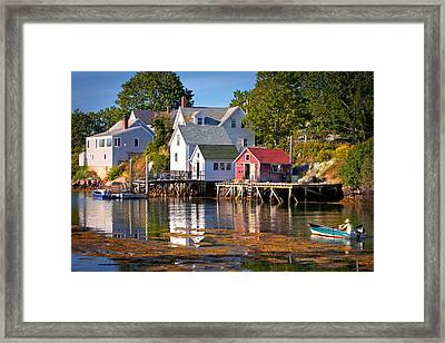 Boothbay  Maine Framed Print