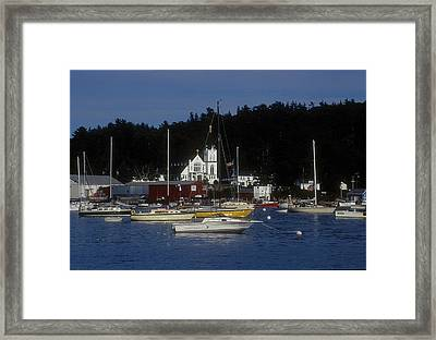 Boothbay Harbor Maine 2 Framed Print