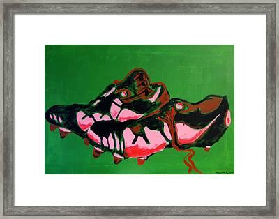 Boots Framed Print by Michael Ringwalt