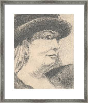 Bootsie Framed Print by T Ezell
