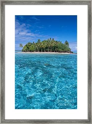 Bora Bora, Motu Framed Print by Joe Carini - Printscapes