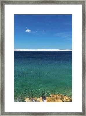 Bora In Velebit Kanal I Framed Print