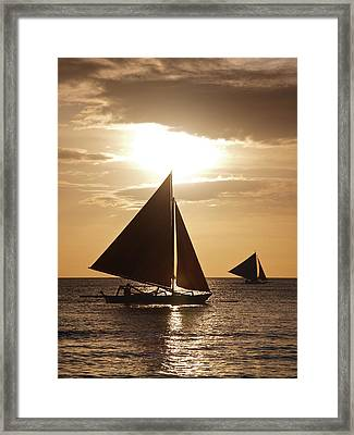 Boracay Philippines A 169 Framed Print by Per Lidvall