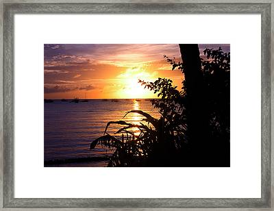 Boracay,philippians  2 Framed Print by Mark Ashkenazi