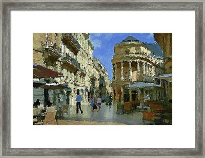 Bordeaux France Framed Print