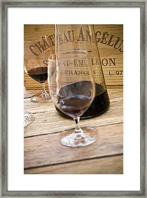 Bordeaux Wine Tasting Framed Print
