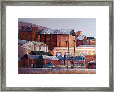 Borderland Mills Framed Print by Candy Mayer
