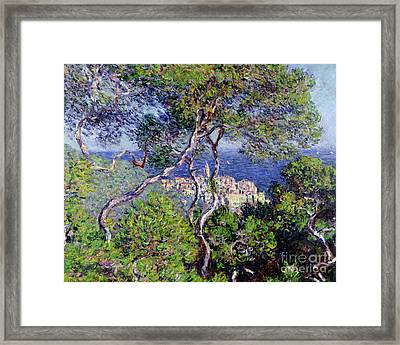 Bordighera Framed Print by Claude Monet