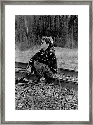 Framed Print featuring the photograph Boredom by Tara Lynn