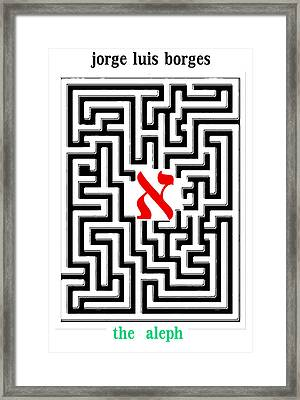Borges' Aleph Poster Framed Print by Paul Sutcliffe