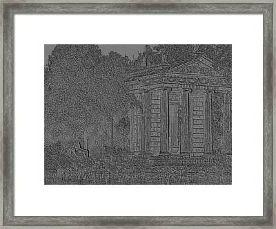 Framed Print featuring the photograph Borghese Scenery by Manuela Constantin