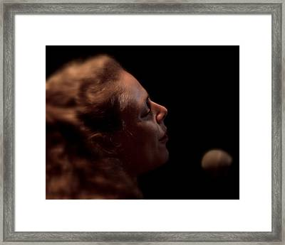 Framed Print featuring the photograph Born For The Blues by Karen Musick