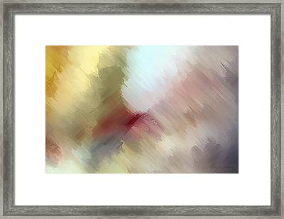 Born In Bethlehem Framed Print