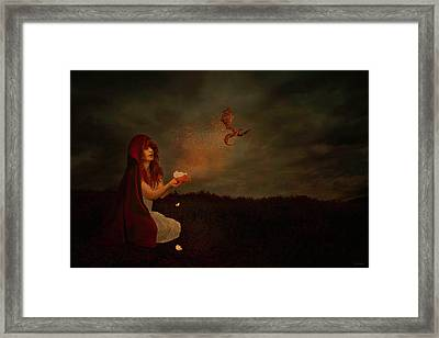 Born Of Magic Framed Print