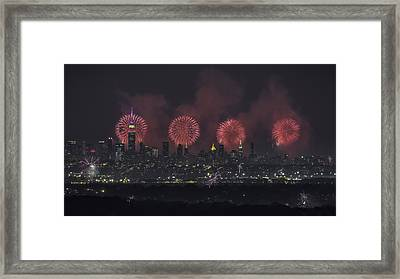 Born On The 4th Of July Framed Print by Eduard Moldoveanu