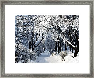 Born This Day Framed Print by Judi Saunders