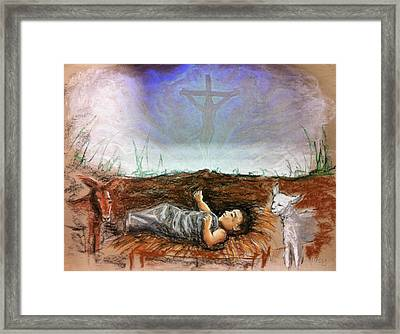 Framed Print featuring the painting Born To Die by Mike Ivey