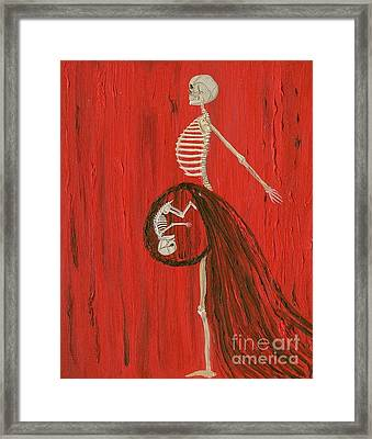 Born To Live E-birth Framed Print by Talisa Hartley