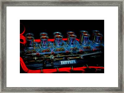 Born To Run Framed Print