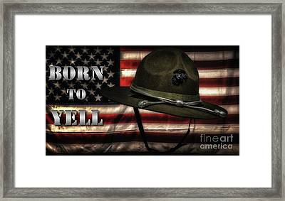 Born To Yell Framed Print by Hans Zimmer