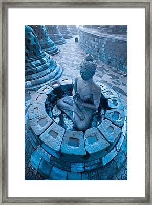 Borobudur Temple Framed Print