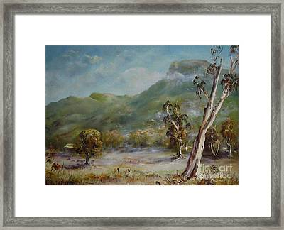 Boronia Peak Framed Print