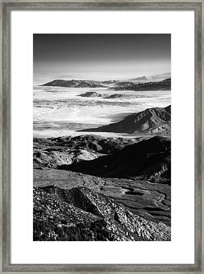 Framed Print featuring the photograph Borrego Valley II by Alexander Kunz