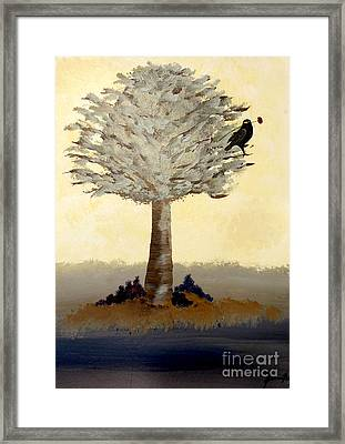 Borrowed Poppy Framed Print