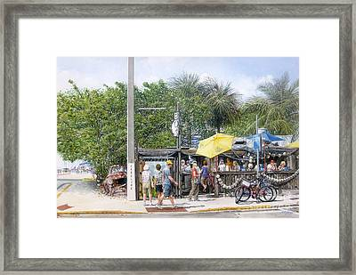 Bos Fish Wagon Framed Print