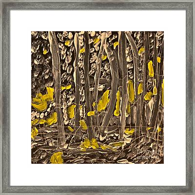 Bosque Morning Framed Print by Ray  Petersen